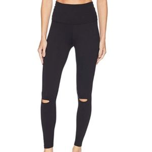 Beyond Yoga Knee Slit High Waist Leggings